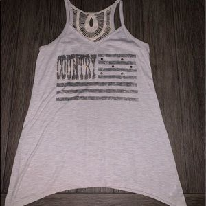Adorable country tank top!